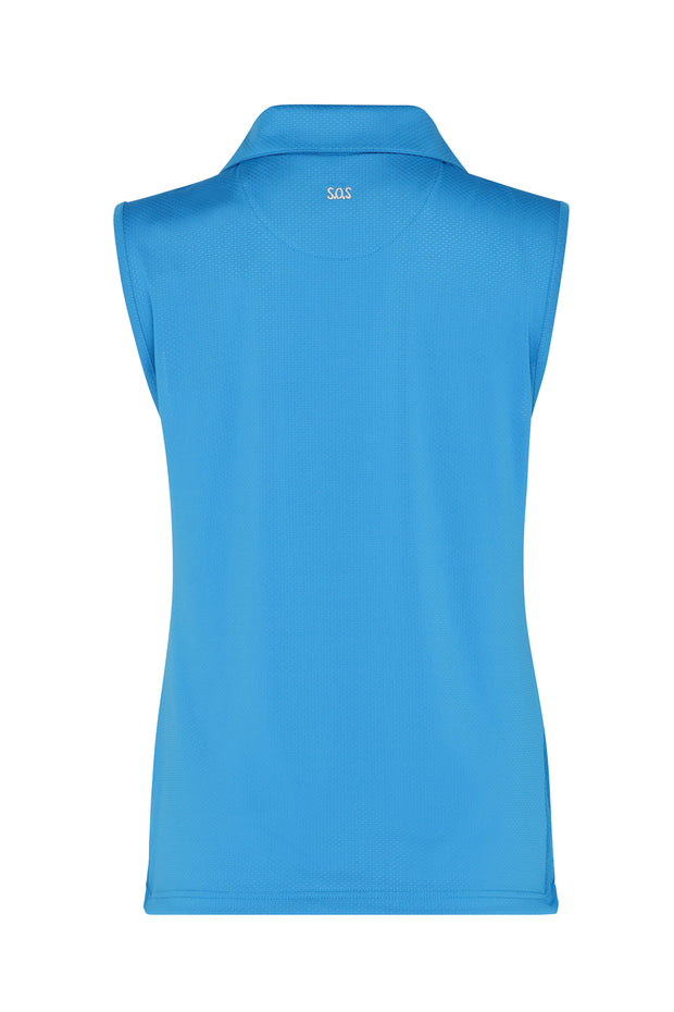 Bali Sleeveless Shirt | Royal Blue