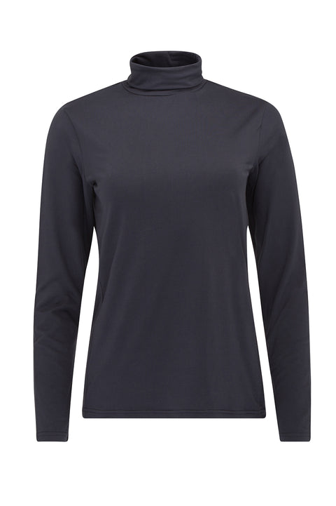 Cassie Roll Neck | Navy