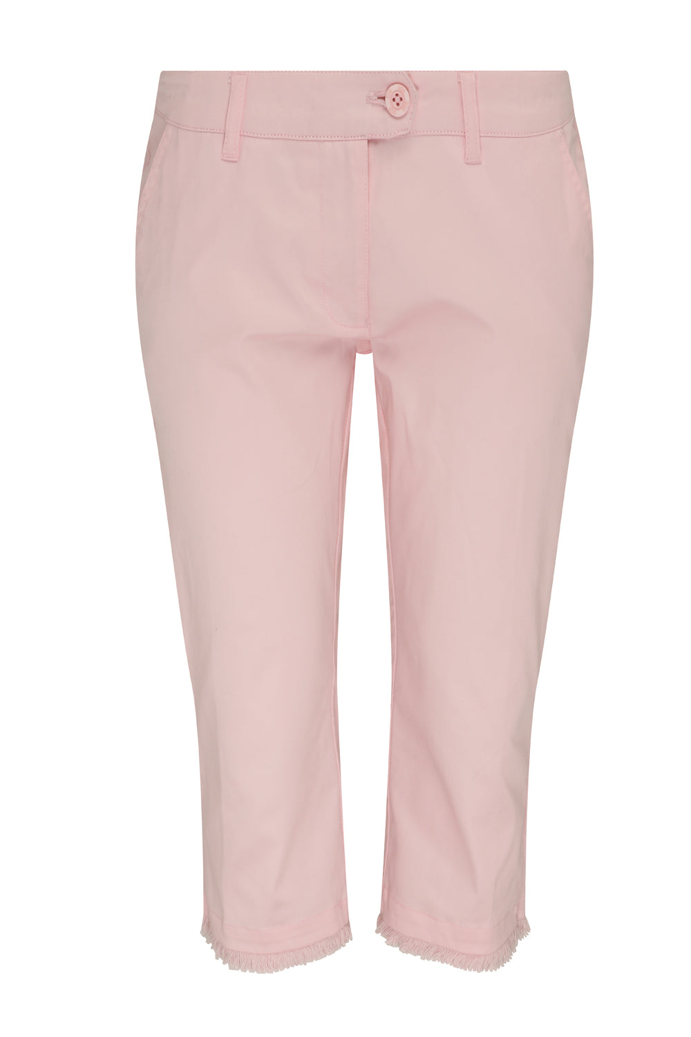 Crete Cotton Satin Capri