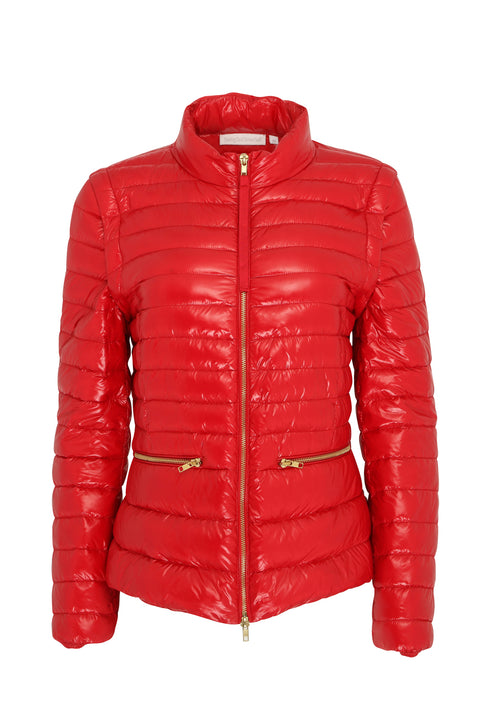 Eloise '2in1' Jacket | Chilli Red