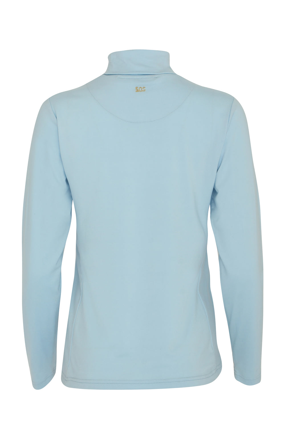 Grace Roll Neck | Cool Blue