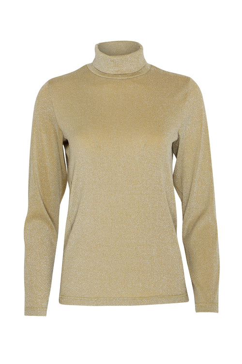 Grace Roll Neck | Gold