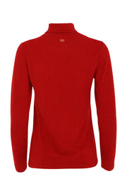 Grace Roll Neck | Chilli Red