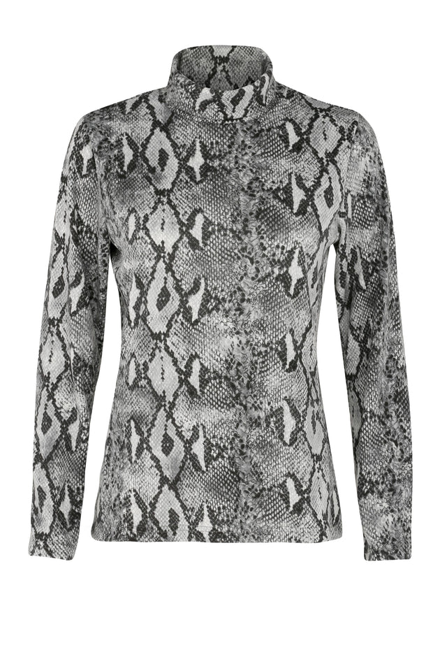 Grace Roll Neck | Print