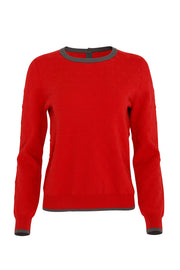 Juliet Sweater | Chilli Red