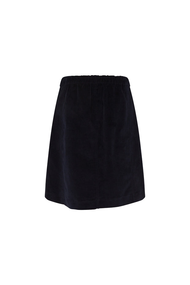 Kristina Cord Skirt With Tights