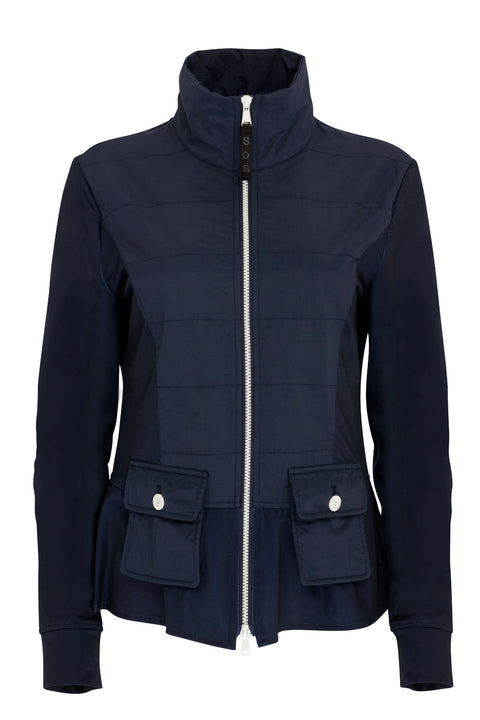 Lucia Insulate Jacket | Navy
