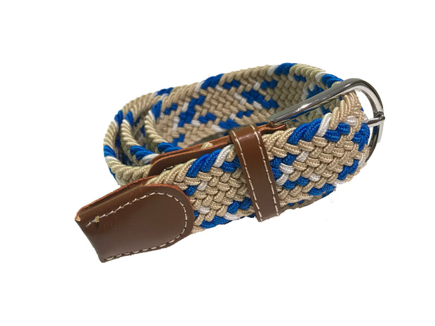 Stretch Belt | Royal Blue Multi Belt