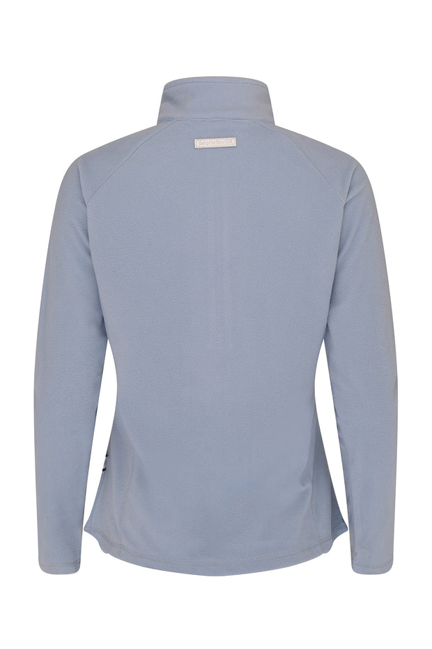 Sofia 1/4 Zip Fleece Over Layer | Powder Blue