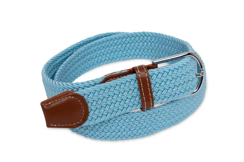 Stretch Belt | Cool Blue