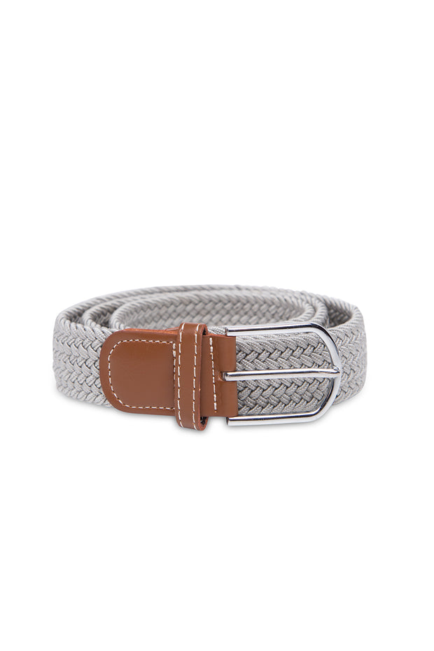 Stretch Belt | Dove Grey