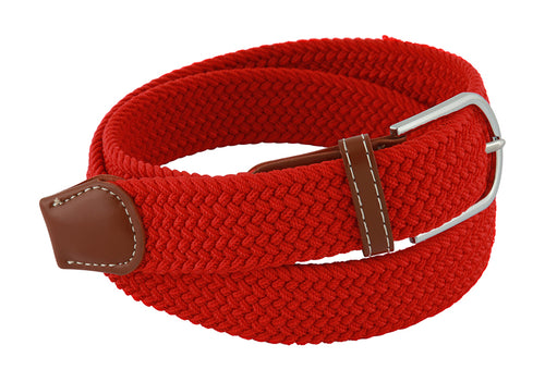 Stretch Belt | Chilli Red