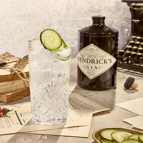 Hendrick's Gin and Tonic