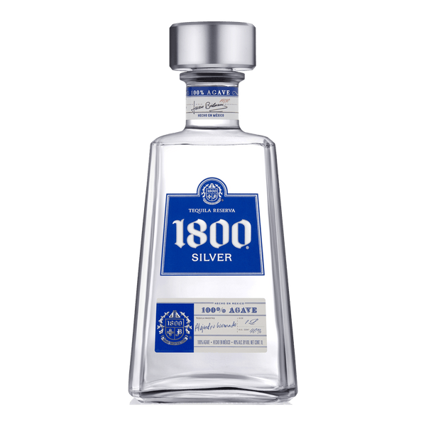 1800 Silver Tequila 750ml - Boozy.ph