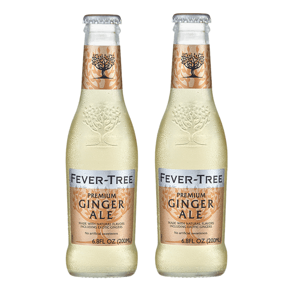 2 Fever Tree Ginger Ale 200ml (Freebie) - Boozy.ph
