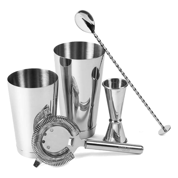 Urban Bar Steel 5-Piece Cocktail Set
