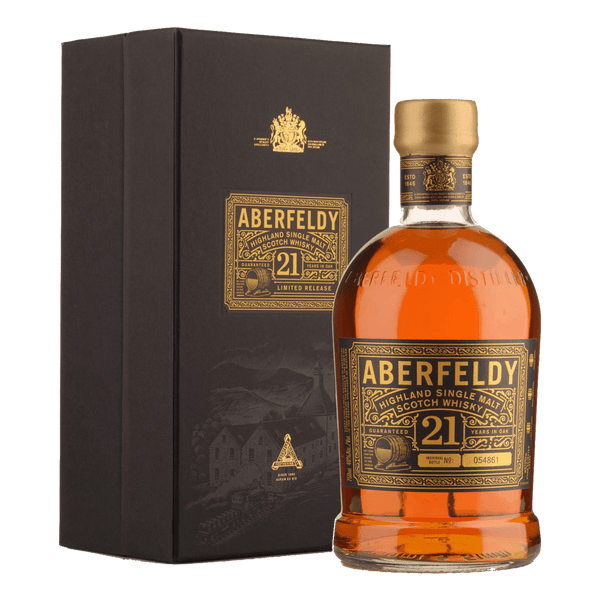 Aberfeldy 21yo 700ml - Boozy.ph