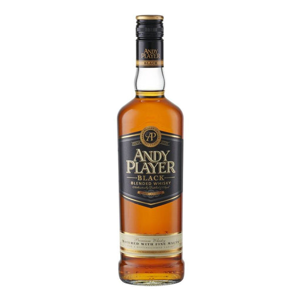 Andy Player Black Blended Whisky 500ml - Boozy.ph