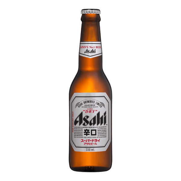 Asahi Super Dry 330ml Bottle