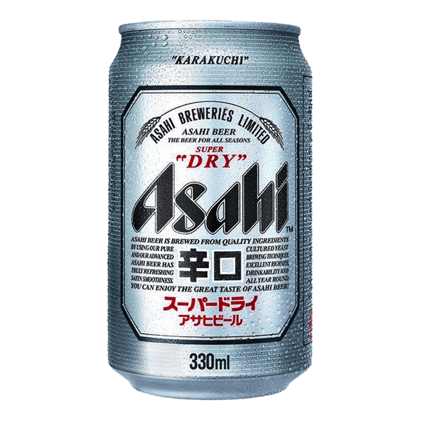 Asahi Super Dry 330ml can - Boozy.ph