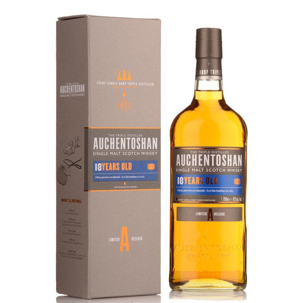 Auchentoshan 18yo 700ml - Boozy.ph