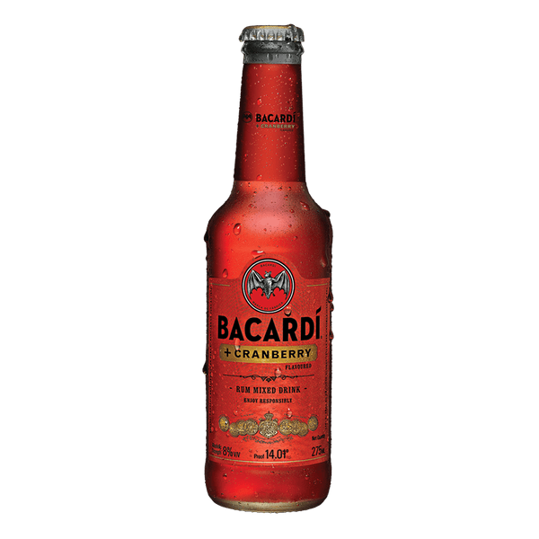 Bacardi Plus Cranberry 275ml (Freebie)