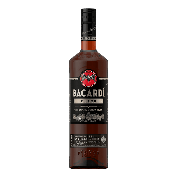 Bacardi Black 750ml - Boozy.ph