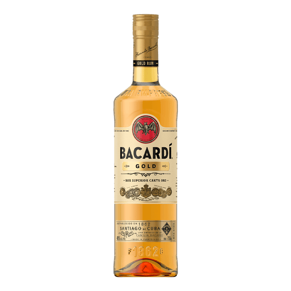 Bacardi Gold 750ml - Boozy.ph