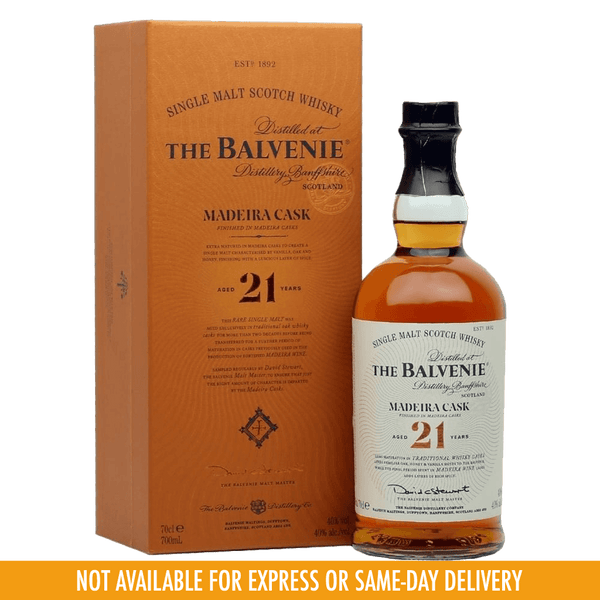 Balvenie 21 Years Madeira Cask 700ml - Boozy.ph