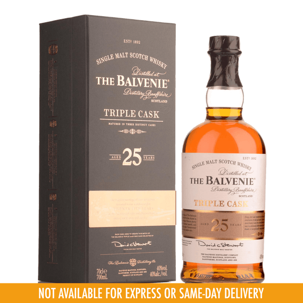 Balvenie 25 Years Triple Cask 700ml - Boozy.ph