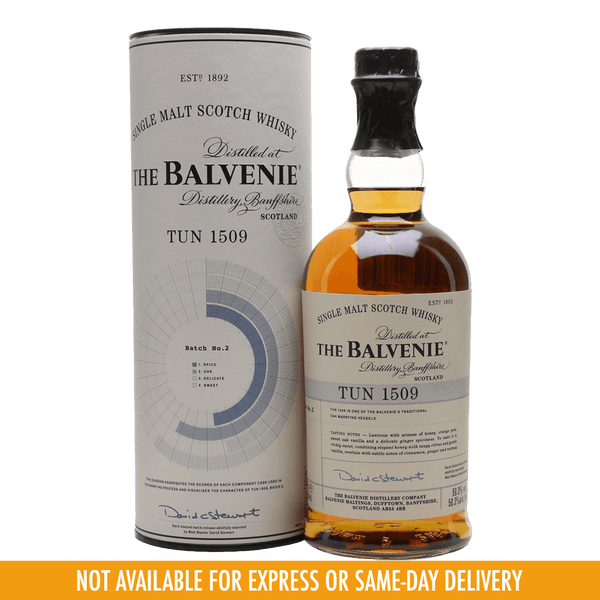 Balvenie Tun 1509 - Batch 2 700ml - Boozy.ph