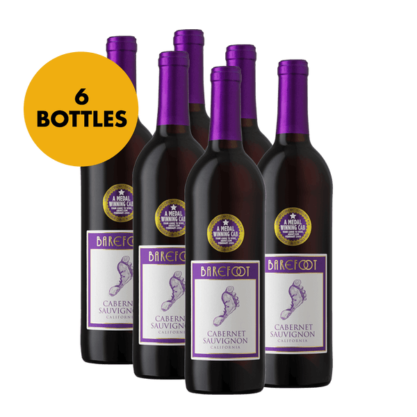 Barefoot Cabernet Sauvignon 750ml Bundle of 6 Bottles - Boozy.ph