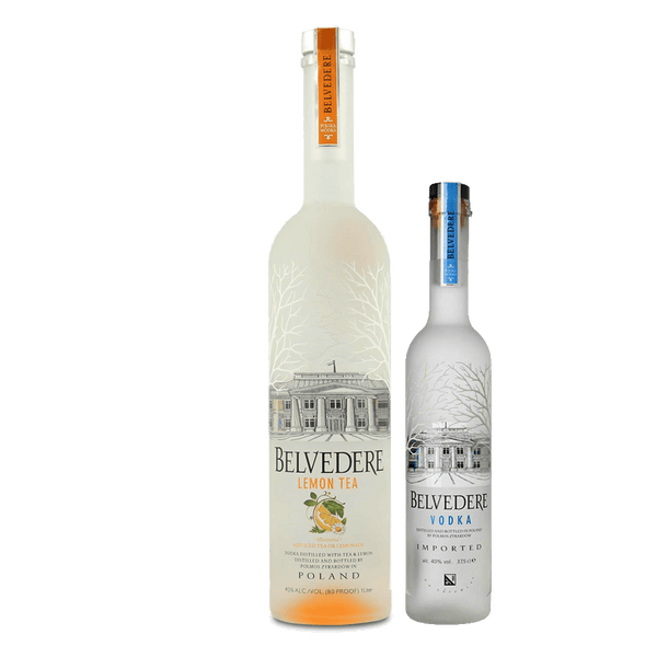 Belvedere Macerated Lemon Tea 1L with FREE 375ml