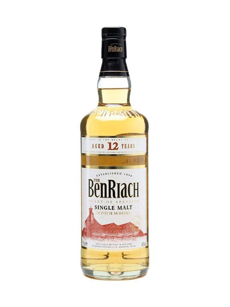 BenRiach 12yo 700ml Scotch Whisky Single Malt