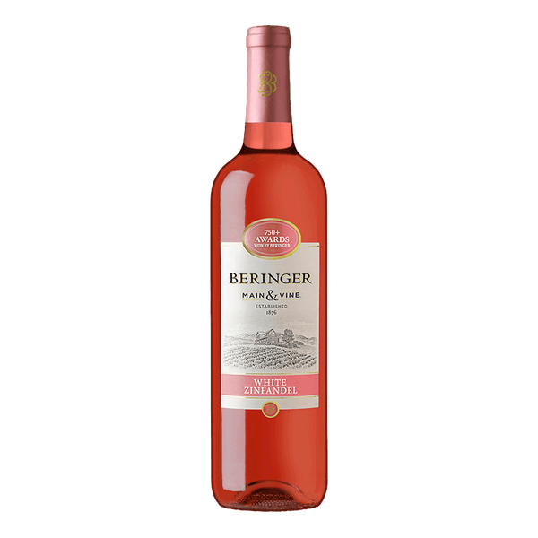 Beringer Main & Vine White Zinfandel 750ml - Boozy.ph