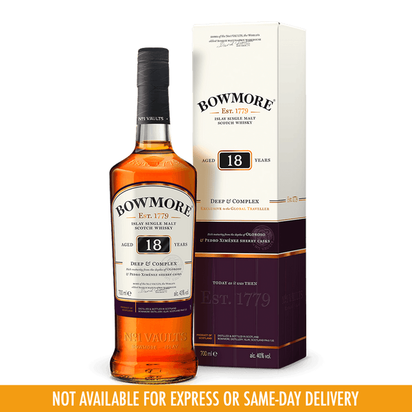 Bowmore 18yo Deep and Complex Whisky 700ml - Boozy.ph