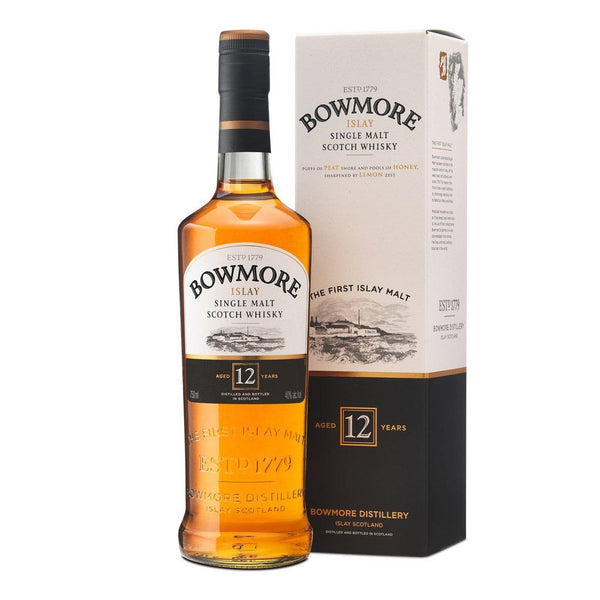 Bowmore 12yo 700ml - Boozy.ph
