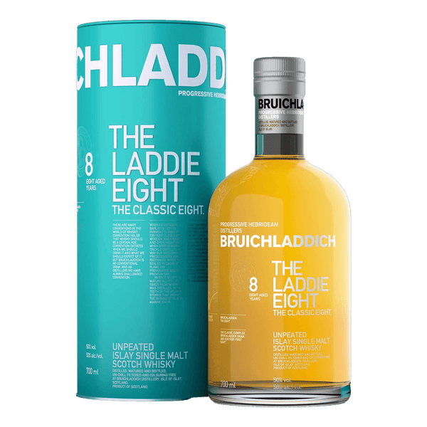 Bruichladdich Laddie 8 700ml - Boozy.ph