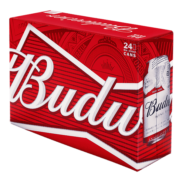 Budweiser 330ml Case (24 Cans) - Boozy.ph