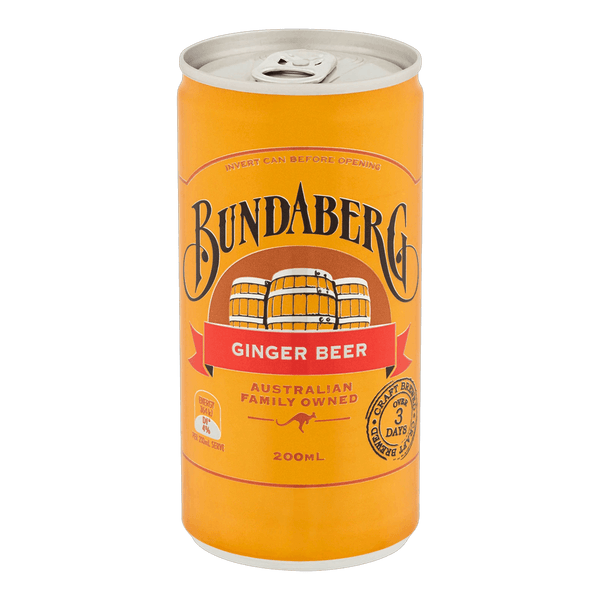 Bundaberg Ginger Beer 200ml