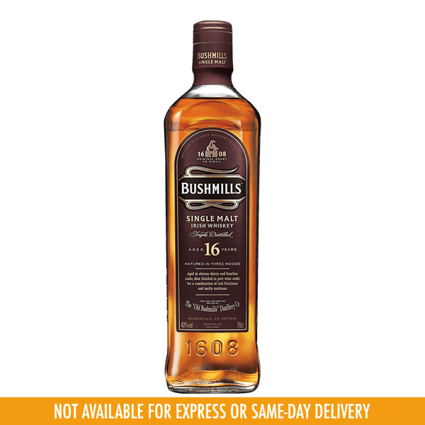 Bushmill 16yo 700ml - Boozy.ph