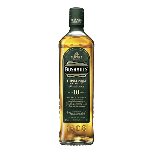 Bushmills 10yo 700ml - Boozy.ph