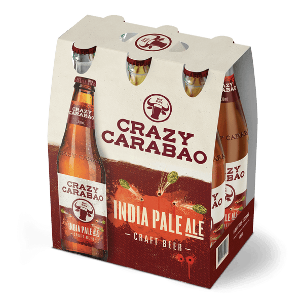 Crazy Carabao IPA 330ml Bottle 6-Pack