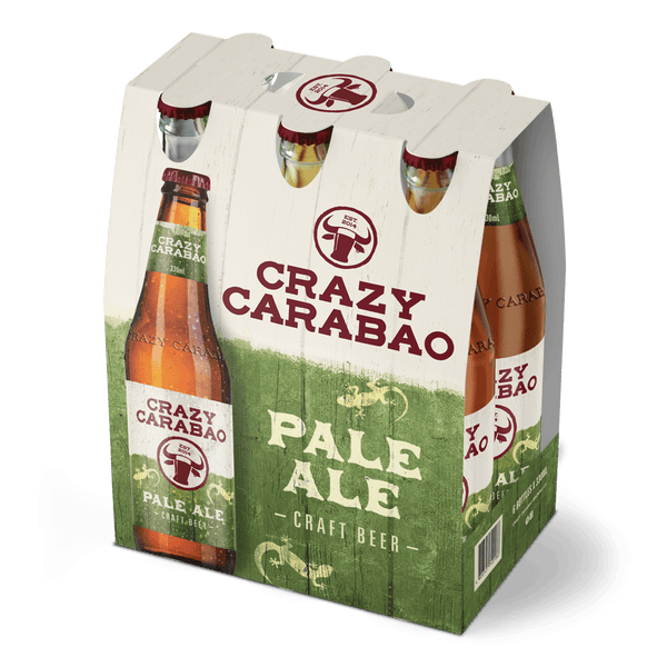 Crazy Carabao Pale Ale 330ml Bottle 6-Pack