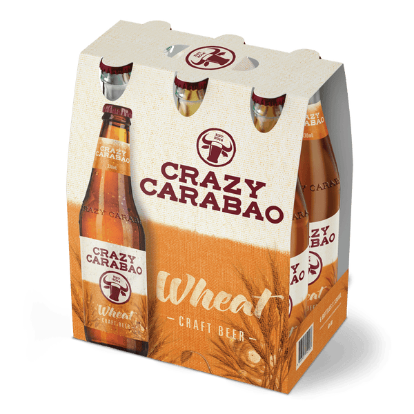 Crazy Carabao Wheat 330ml Bottle 6-Pack