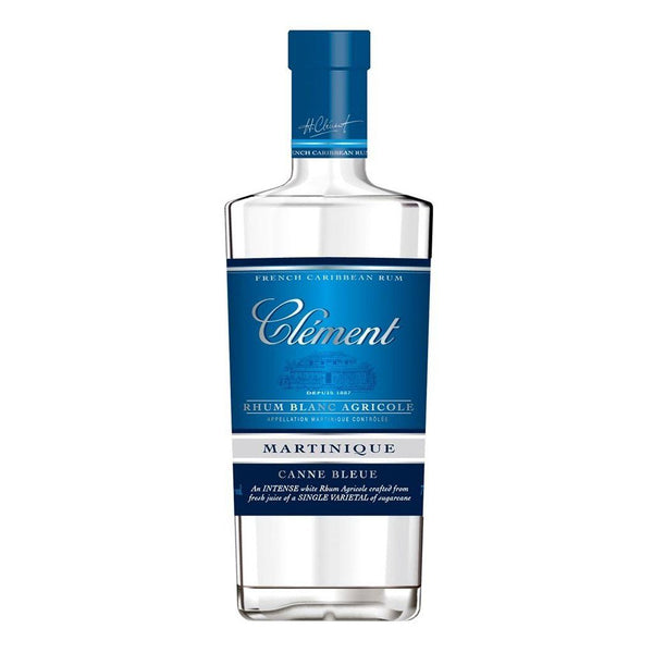 Clement Canne Bleue Rum 700ml - Boozy.ph