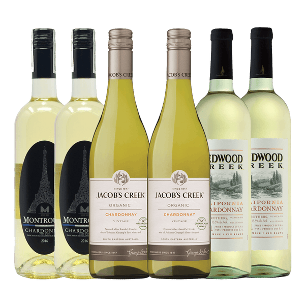 Chardonnay Bundle of 6