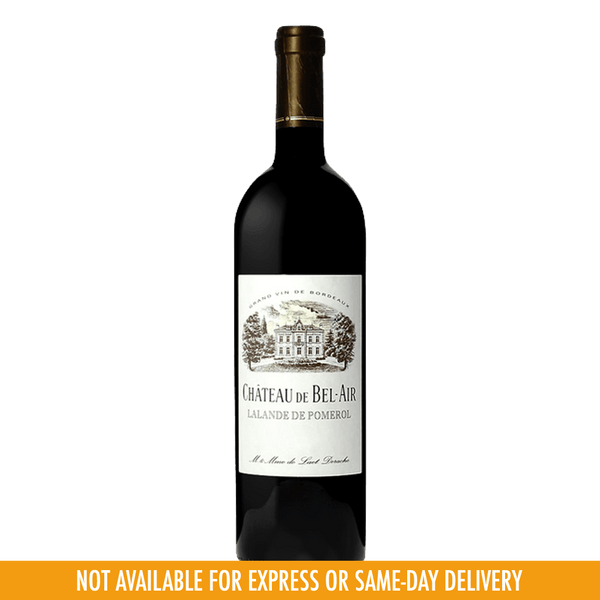 Chateau De Bel Air Lalande de Pomerol 2014 750ml - Boozy.ph