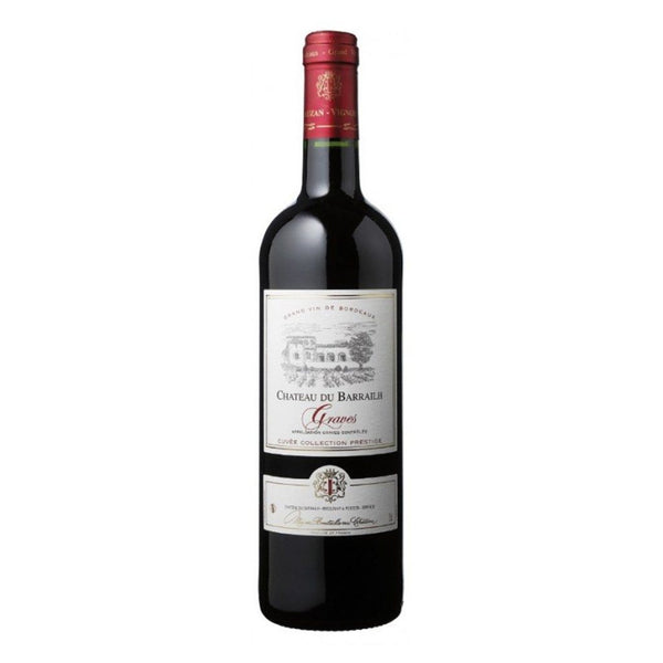 Chateau Du Barrailh Graves 750ml Wine