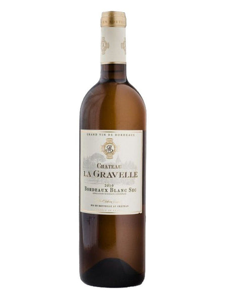Chateau La Gravelle Bordeaux Blanc Sec 750ml - Boozy.ph